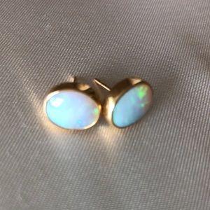 Jewelry - Opal post earrings
